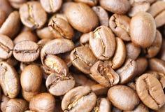 καφές φασολιών ανασκόπησης Στοκ φωτογραφία με δικαίωμα ελεύθερης χρήσης