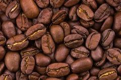 καφές φασολιών ανασκόπησ&eta κλείστε επάνω σύσταση Στοκ Εικόνες