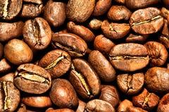 καφές φασολιών ανασκόπησ&eta Στοκ φωτογραφίες με δικαίωμα ελεύθερης χρήσης