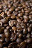καφές φασολιών ανασκόπησ&eta Στοκ Φωτογραφία