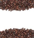 καφές φασολιών ανασκόπησ&eta Στοκ εικόνα με δικαίωμα ελεύθερης χρήσης