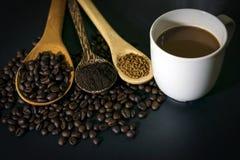 καφές φασολιών καυτός στοκ εικόνα με δικαίωμα ελεύθερης χρήσης