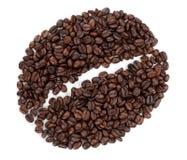 καφές φασολιών φασολιών που γίνεται Στοκ εικόνα με δικαίωμα ελεύθερης χρήσης