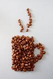 καφές φασολιών Στοκ Φωτογραφίες