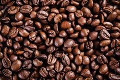 καφές φασολιών ανασκόπησ&eta Καφετιά σύσταση Στοκ Φωτογραφίες