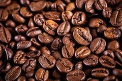καφές φασολιών ανασκόπησ&eta Καφετιά σύσταση Στοκ Εικόνες