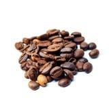καφές φασολιών που απομονώνεται Στοκ φωτογραφία με δικαίωμα ελεύθερης χρήσης