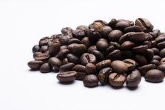 καφές φασολιών που απομονώνεται Στοκ Εικόνες