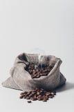 καφές φασολιών τσαντών Στοκ φωτογραφίες με δικαίωμα ελεύθερης χρήσης