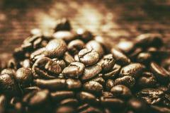 καφές φασολιών χρυσός Στοκ Φωτογραφία