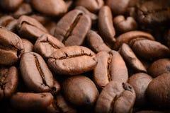 Καφές: Φασόλια Στοκ Φωτογραφίες