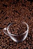 Καφές-φασόλια στοκ φωτογραφία