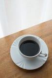 Καφές, φλυτζάνι, πίνακας, λευκό, ο Μαύρος, espresso, ποτό, πρόγευμα, πρωί, άρωμα, MU Στοκ Εικόνες