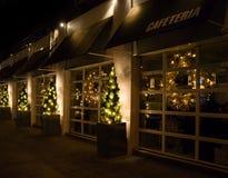 Καφές Χριστουγέννων Στοκ εικόνες με δικαίωμα ελεύθερης χρήσης