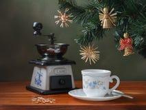 Καφές Χριστουγέννων Στοκ εικόνα με δικαίωμα ελεύθερης χρήσης