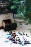 Καφές Χριστουγέννων Στοκ Φωτογραφίες