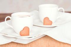 καφές δύο Στοκ Εικόνες