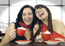 καφές 2 από κοινού Στοκ Εικόνα