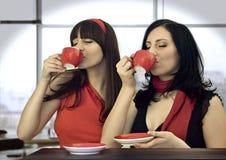 καφές 5 από κοινού Στοκ Εικόνα