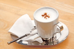 καφές cappuccino Στοκ Εικόνα