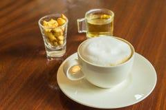 Καφές Cappuccino Στοκ φωτογραφίες με δικαίωμα ελεύθερης χρήσης