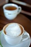 καφές capuccino Στοκ εικόνες με δικαίωμα ελεύθερης χρήσης
