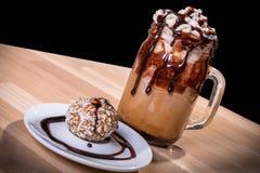Καφές Choco latte Στοκ φωτογραφία με δικαίωμα ελεύθερης χρήσης