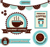 Καφές Clipart Στοκ φωτογραφίες με δικαίωμα ελεύθερης χρήσης