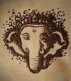 Καφές Ganesha Στοκ Φωτογραφία