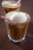 Καφές glace Στοκ Εικόνες