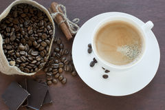 καφές goodies άλλος στοκ εικόνα