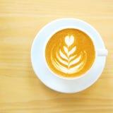 Καφές Latte ή cappuccino στοκ φωτογραφία με δικαίωμα ελεύθερης χρήσης