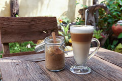 Καφές latte 04 Στοκ φωτογραφίες με δικαίωμα ελεύθερης χρήσης