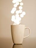 καφές lumiere Στοκ εικόνα με δικαίωμα ελεύθερης χρήσης