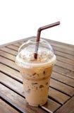 Καφές Mocca πάγου στον πίνακα Στοκ Εικόνες