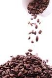 καφές spillig Στοκ εικόνα με δικαίωμα ελεύθερης χρήσης