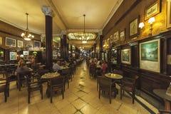Καφές Tortoni, Buoenos Aires, Αργεντινή στοκ φωτογραφία με δικαίωμα ελεύθερης χρήσης
