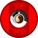 καφές yang yin Στοκ Εικόνες