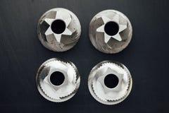 Καφέ μηχανών ανταλλακτικό λεπίδων μύλων κωνικό Στοκ φωτογραφία με δικαίωμα ελεύθερης χρήσης
