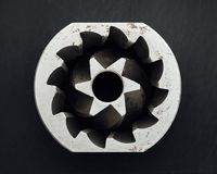 Καφέ μηχανών ανταλλακτικό λεπίδων μύλων κωνικό Στοκ φωτογραφίες με δικαίωμα ελεύθερης χρήσης