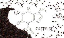 καφεΐνη στοκ φωτογραφία