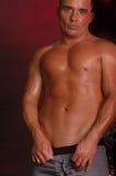 καφετής αρσενικός shirtless Στοκ φωτογραφία με δικαίωμα ελεύθερης χρήσης