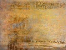 καφετής βρώμικος τοίχος Στοκ Εικόνα