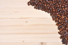 καφετής καφές ανασκόπησης Στοκ Εικόνα