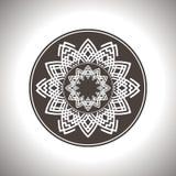 Καφετής κύκλος Στοκ Εικόνες