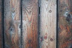 Καφετής-μαύρο πολύ κατασκευασμένο υπόβαθρο των ξύλινων πινάκων στοκ φωτογραφίες