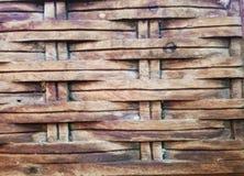 καφετής ξύλινος ανασκόπησης Στοκ Εικόνες