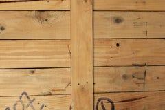 Καφετής ξύλινος χρώματος για το υπόβαθρο Στοκ Εικόνα