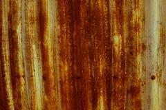 Καφετής παλαιός ψευδάργυρος στοκ φωτογραφία με δικαίωμα ελεύθερης χρήσης