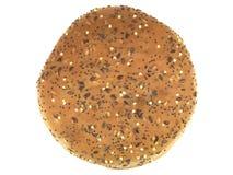 καφετής ρόλος ψωμιού Στοκ Εικόνα